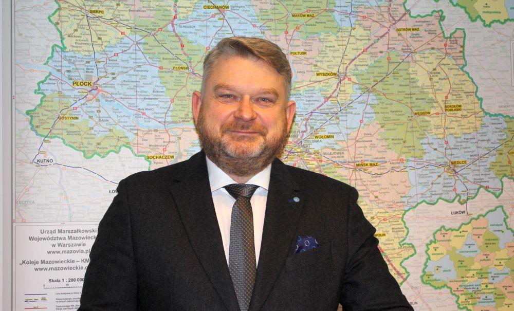 Lewandowski: Koleje Mazowieckie nie będą ciąć inwestycji podczas pandemii