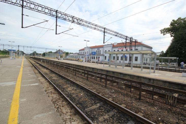 Rail Baltica. Stacja Ełk bardziej dostępna dla podróżnych [wizualizacje]