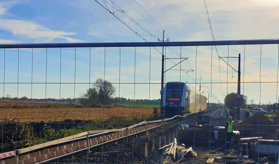 Pod Wrocławiem powstaje nowy przystanek kolejowy Iwiny