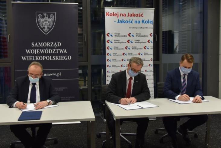 Koleje Wielkopolskie z umową 10-letnią