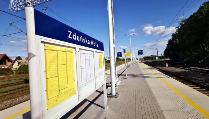 Łódź – Zduńska Wola: Jeszcze dwa miesiące utrudnień. Znamy datę zakończenia robót