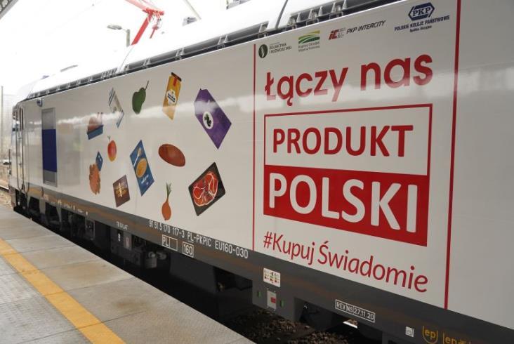 PKP Intercity: Ostatni odebrany Griffin promuje akcję Produkt Polski