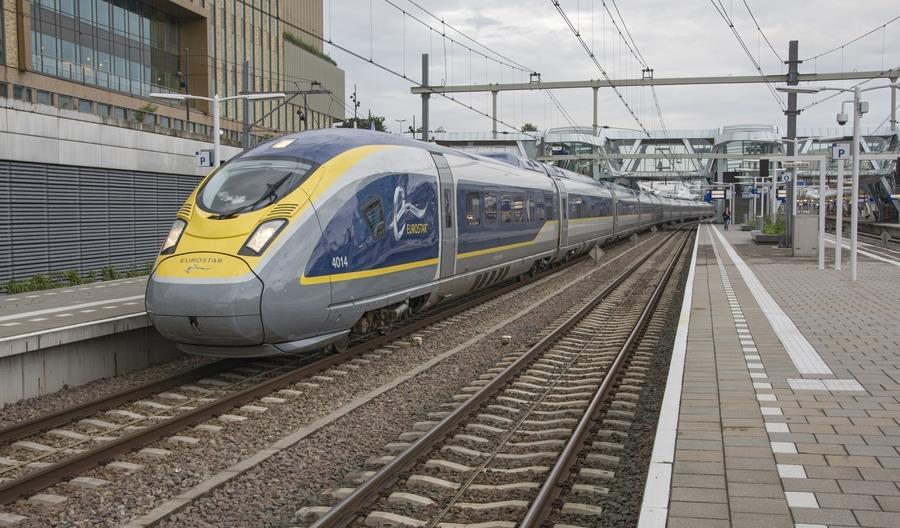 Nie kursują pociągi Eurostar z kontynentu do Anglii