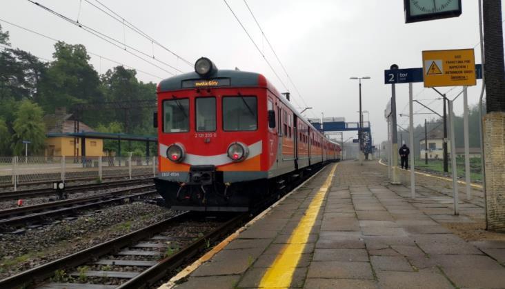 Prace w Herbach Nowych. Wieruszów i Wieluń bez pociągów dalekobieżnych