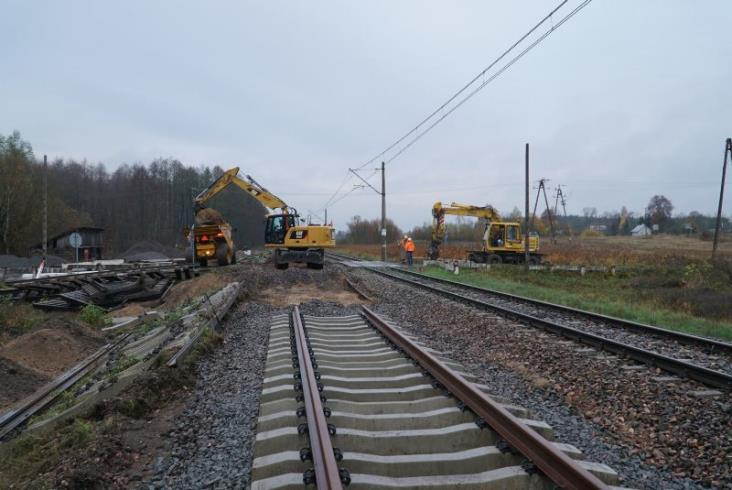 Podlaskie: Kładą nowe tory na liniach szerokotorowych przy granicy z Białorusią