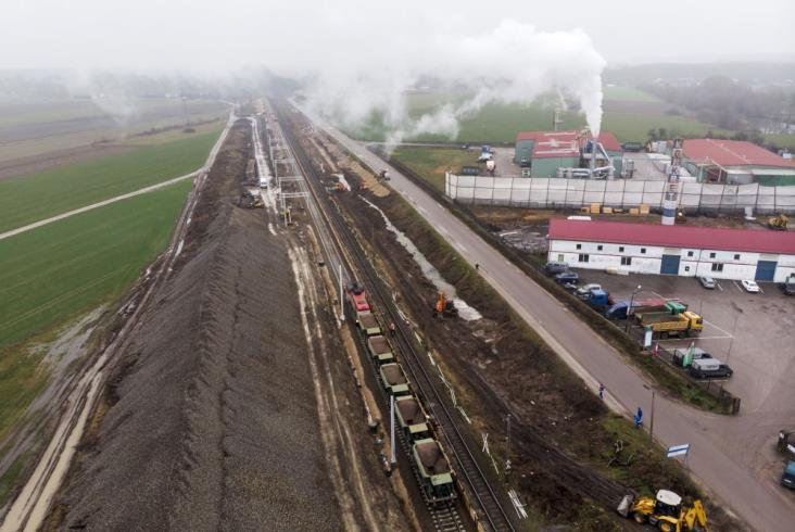Rail Baltica: Trwają prace na odcinku Czyżew – Białystok [zdjęcia]