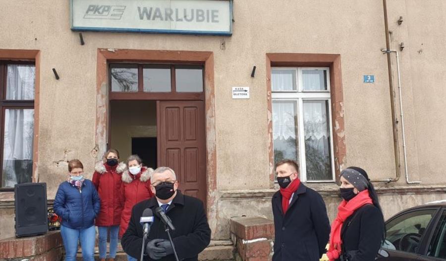 Kujawsko-pomorskie: Pociągi PKP IC od marca z zatrzymaniami w Warlubiu