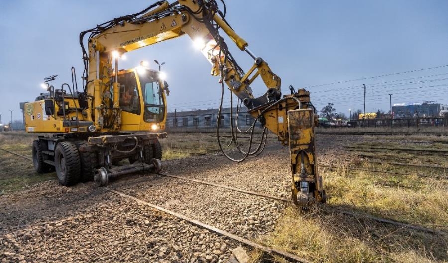 Trwają prace na stacji Białystok [zdjęcia]