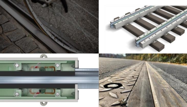 System VeloGleis od SEALable: Bezpieczeństwo rowerzystów na torowiskach tramwajowych