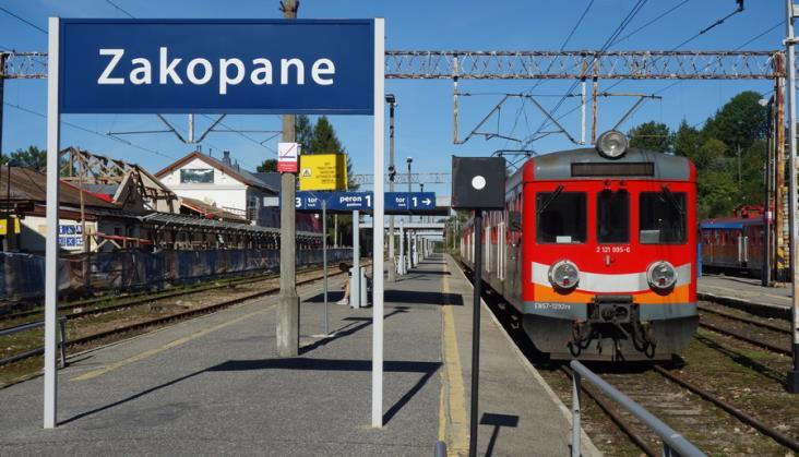 Czas przejazdu pociągów z Krakowa do Zakopanego rekordowo długi