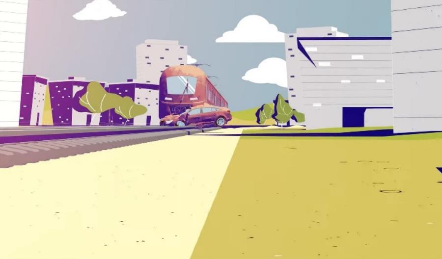 Film UTK nagrodzony o bezpiecznych przejazdach nagrodzony