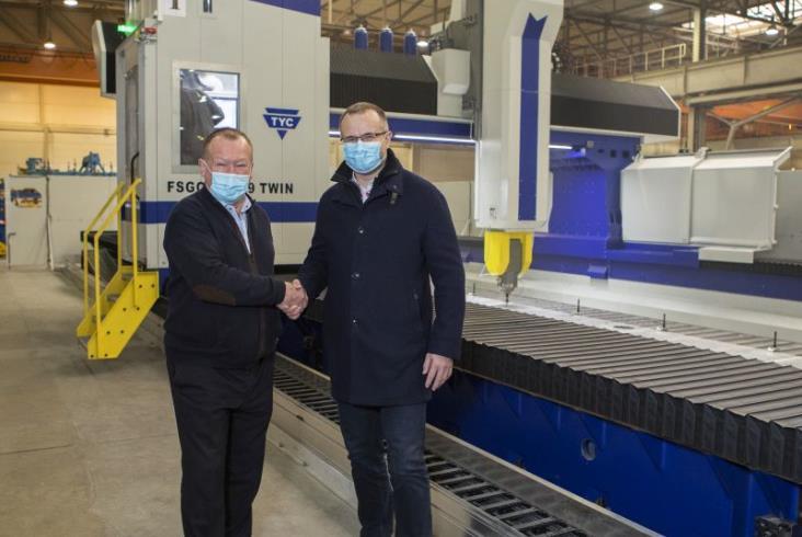 Skoda Vagonka chwali się największą obrabiarką aluminium w Europie