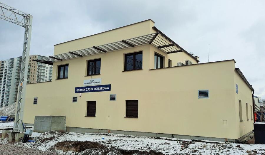 Gdańsk Zaspa Towarowa – nowa nastawnia obsługuje pociągi do portu