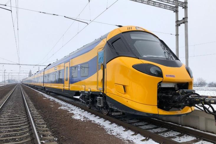 Wyprodukowane w Chorzowie Coradie Stream dla trasy Amsterdam – Bruksela na testach