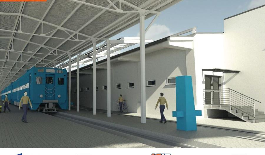 PKP Intercity inwestuje w stację postojową w Krakowie [wizualizacje]