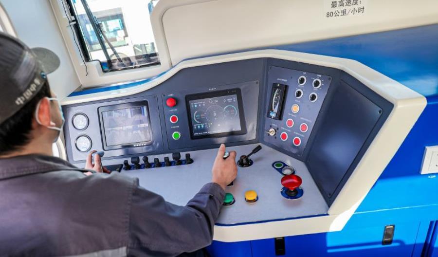 CRRC zaprezentowało hybrydową lokomotywę na wodór [ZDJĘCIA!]