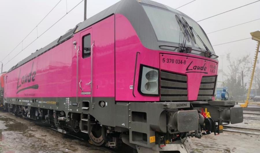 Pierwszy różowy Vectron MS w Europie