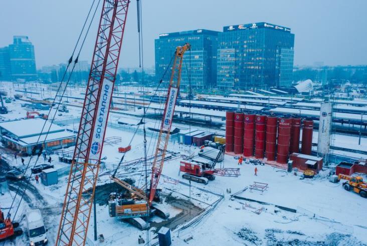 Warszawa Zachodnia: Przygotowania do budowy przejścia podziemnego