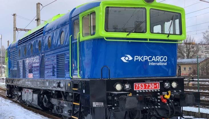 """Czeskie """"okularniki"""" w barwach PKP Cargo International"""