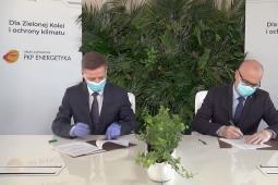 PKP Energetyka i DB Cargo Polska podpisały list intencyjny ws programu Zielona Kolej