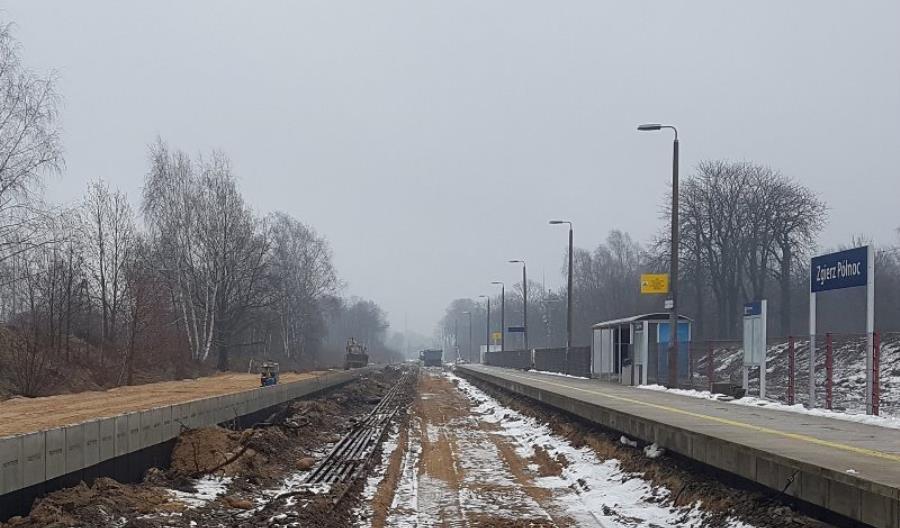 W Zgierzu wygodniej wsiądziemy do pociągów