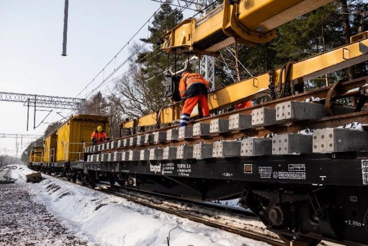 Kolejne kilometry nowych torów do portów w Szczecinie i Świnoujściu