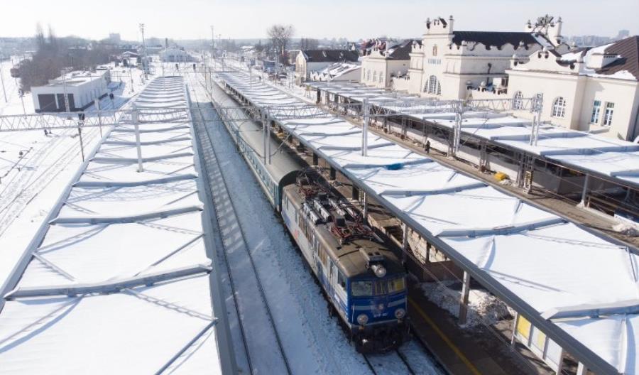 Postępy prac na stacji Lublin Główny [zdjęcia]