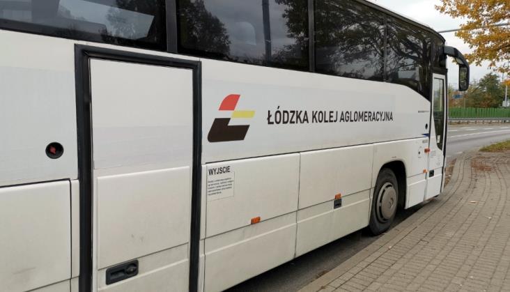 ŁKA pojedzie do Ostrów na linii Kutno – Włocławek. Na razie autobusem