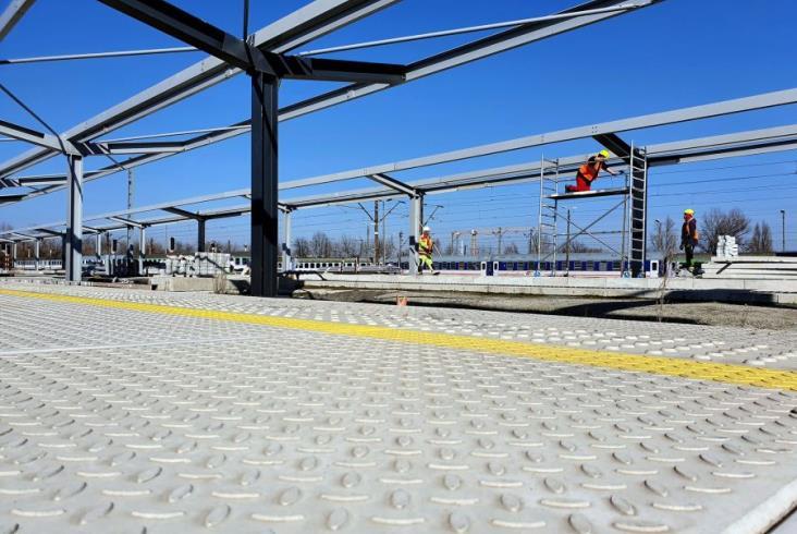 Trwają prace na stacji Kraków Płaszów [zdjęcia]