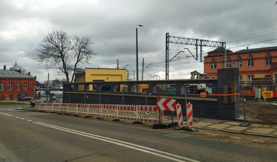 Trwa przebudowa wiaduktu kolejowego przy stacji Szczecin Główny