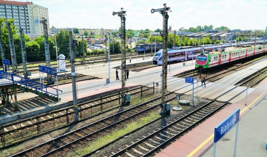 Kolejna faza prac na Rail Baltica do Białegostoku. Będzie więcej autobusów za pociągi