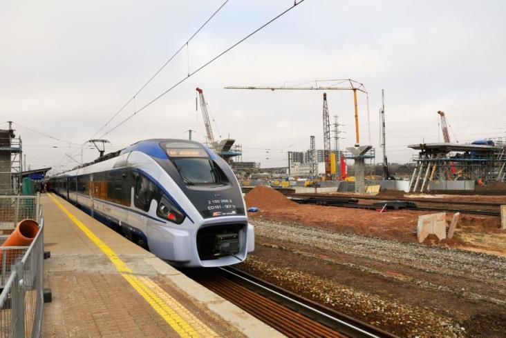 Warszawa Zachodnia: Prace na wiadukcie nad al. Prymasa Tysiąclecia