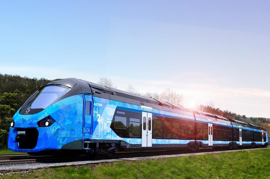 Pierwsze zamówienia na pociągi wodorowe Alstom we Francji