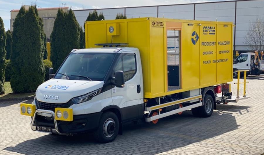 Copma Polska Sp. z o.o. producent pojazdów drogowo-szynowych poszerza swoją ofertę o kolejną pozycję