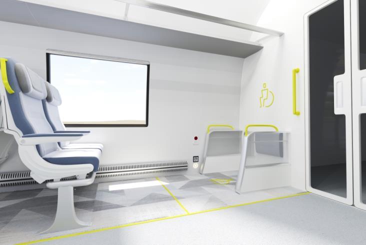 Rail Baltica prezentuje projekt koncepcyjny pociągu KDP. Dla promocji