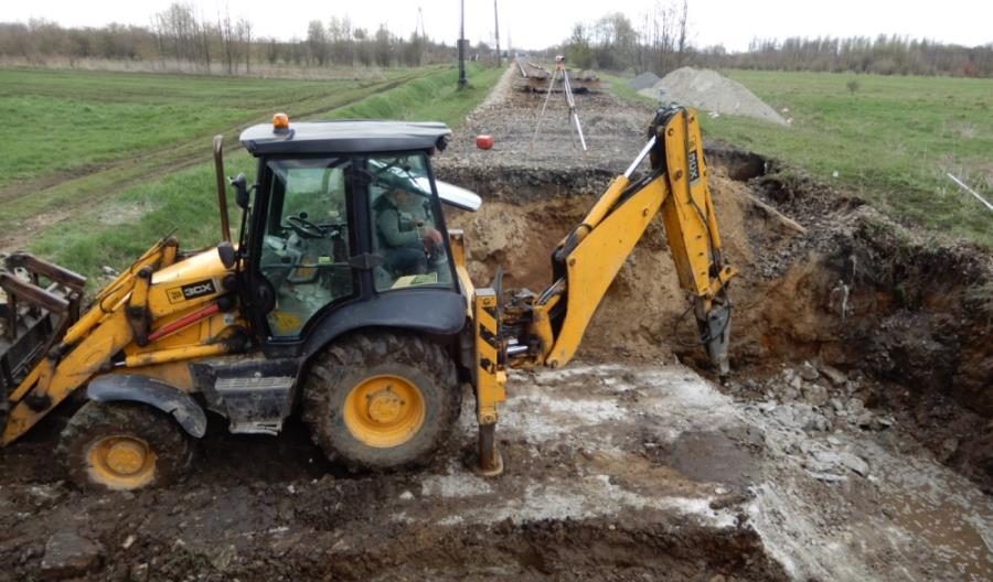 Trwają prace na linii nr 68 Przeworsk – Stalowa Wola