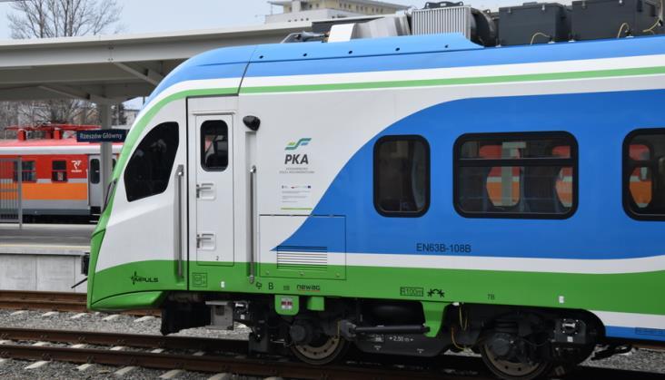 W Rzeszowie powstanie baza do obsługi podkarpackich pociągów. Jak idzie projekt PKA?