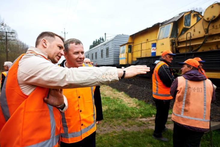 Koleje Ukraińskie zaczynają elektryfikację trasy kolejowej Kowel – Hrubieszów