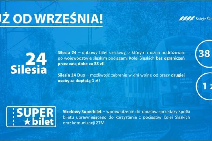 Nowa taryfa Kolei Śląskich. Nie tylko podwyżki