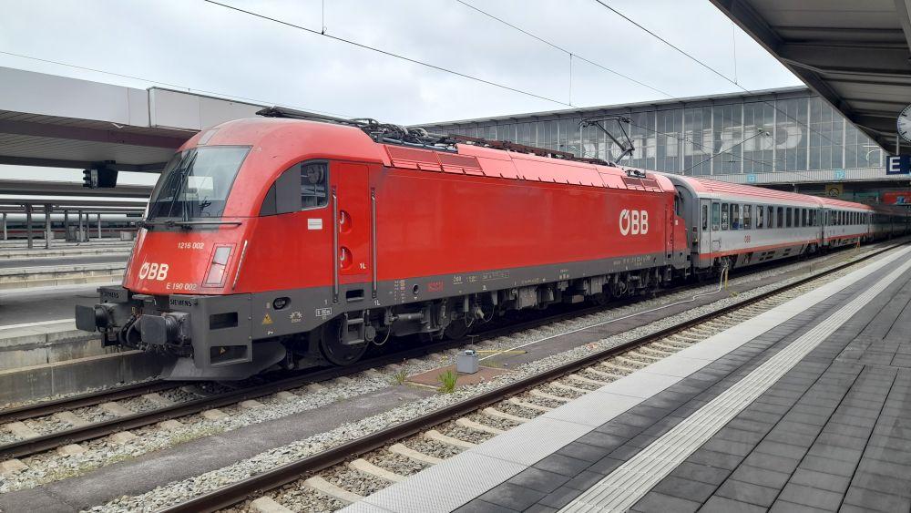 Koleje Austriackie przywracają międzynarodowe połączenia