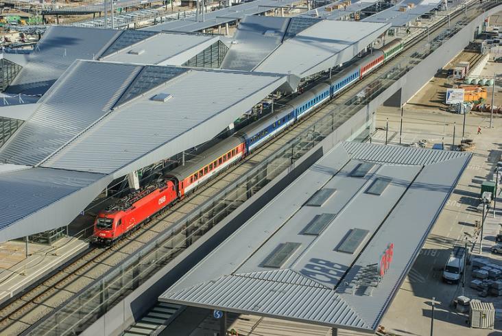 Koleje Ukraińskie pojadą do Austrii i na Węgry