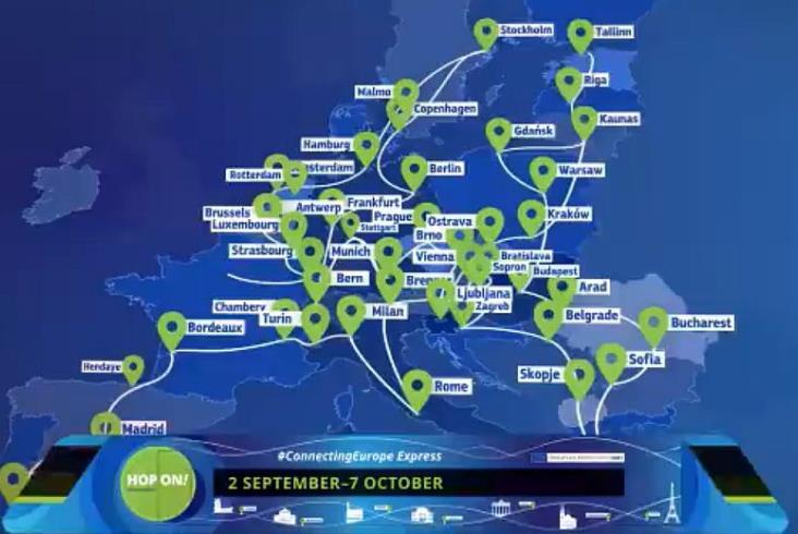 Europejski pociąg z okazji Roku Kolei przyjedzie do Polski na Trako [aktualizacja]