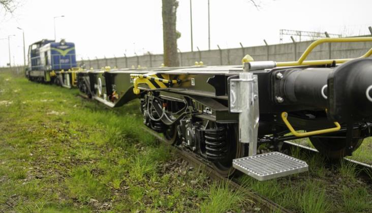 PKP Cargo odebrało nowe wagony platformy