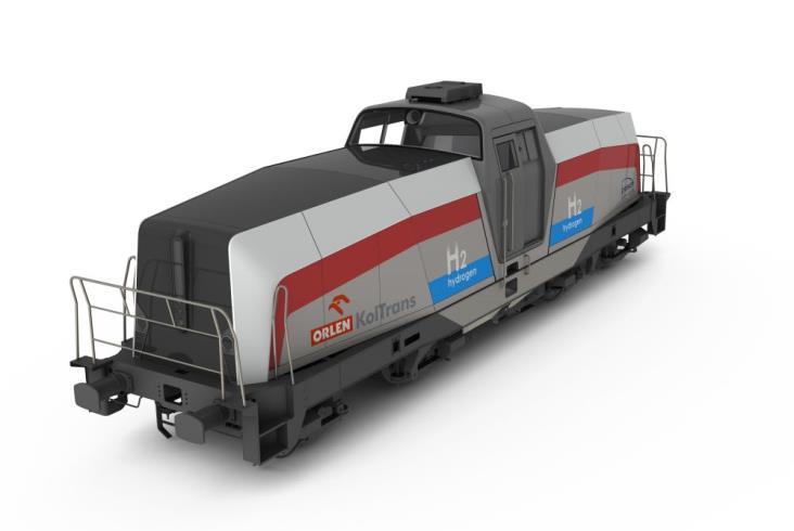 Pesa rozpoczęła budowę prototypu lokomotywy wodorowej. Mamy wizualizacje!
