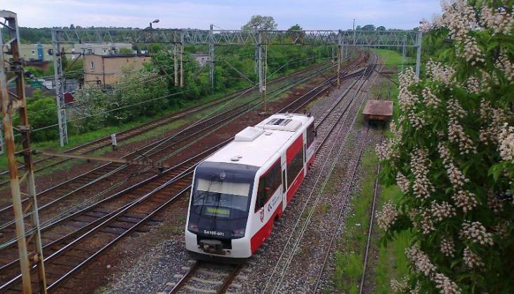 SA105 wrócił na wielkopolskie tory po modernizacji