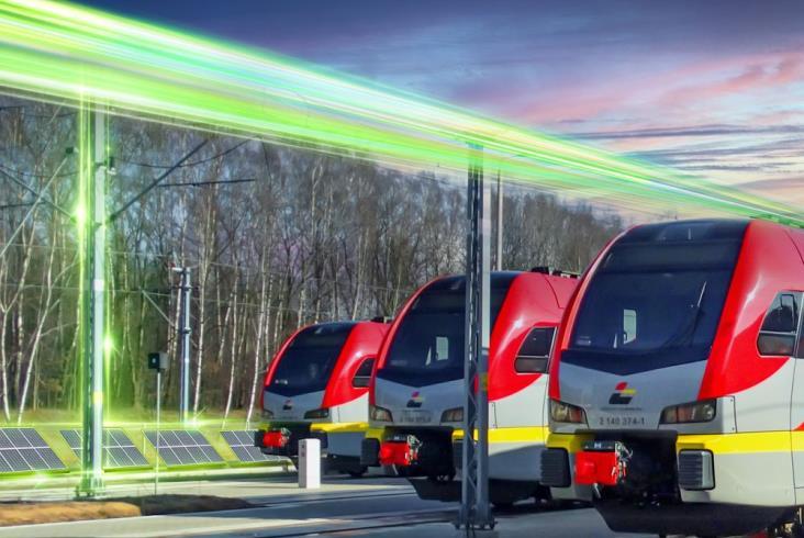 Pierwszy przewoźnik pasażerski w programie Zielona Kolej