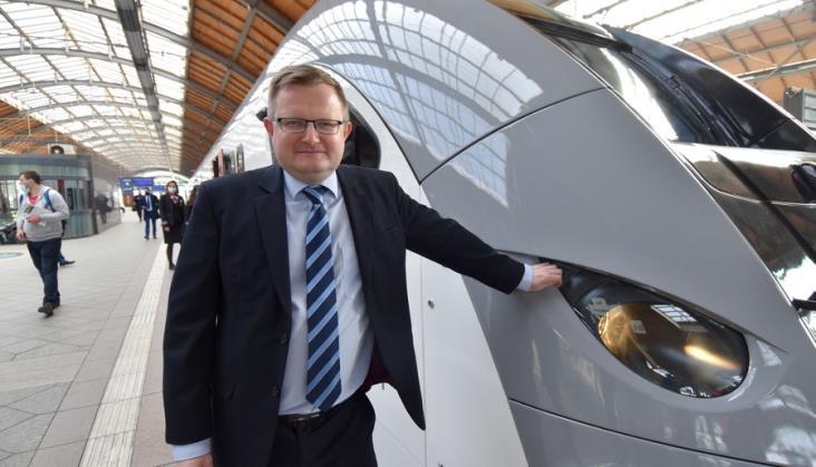 Wojciech Zdanowski: Kolej musi być obecna w komunikacji miejskiej Wrocławia