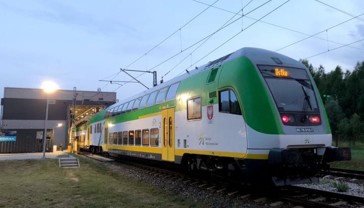 Pociąg Słoneczny Kolei Mazowieckich znów nie pojedzie nad Bałtyk