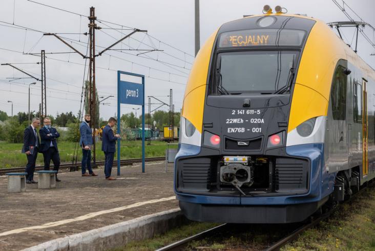 Pierwsze dwa Elfy 2 dla Małopolski pojadą z pasażerami już w czerwcu