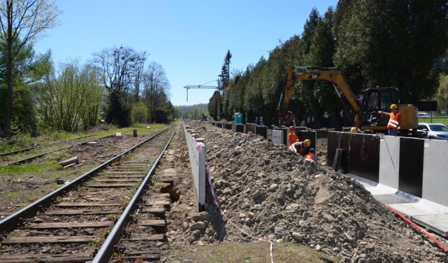 Na stacji w Cieszynie wykonano większość prac torowych [zdjęcia]